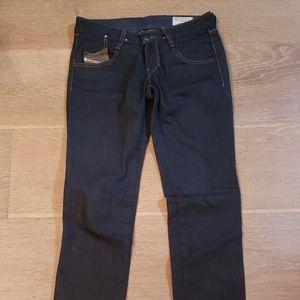 Diesel womens dark wash jeans size 26